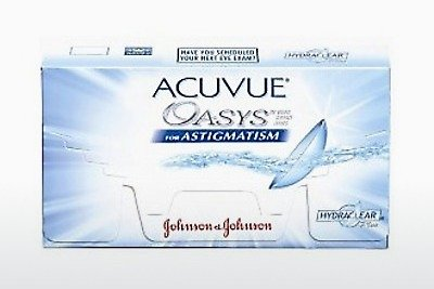 Soczewki kontaktowe Johnson & Johnson ACUVUE ADVANCE for ASTIGMATISM AGT-6P-REV
