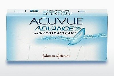 Soczewki kontaktowe Johnson & Johnson ACUVUE ADVANCE with HYDRACLEAR AVG-6P-REV