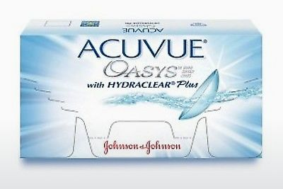 Soczewki kontaktowe Johnson & Johnson ACUVUE OASYS with HYDRACLEAR Plus PH-6P-REV