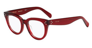 Céline CL 41379 CR3 TRSP RED
