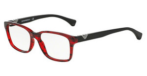 Emporio Armani EA3042 5278 STRIPED RED