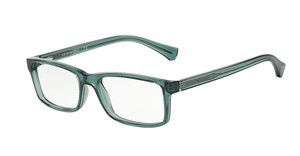 Emporio Armani EA3065 5375 TRANSPARENT GREEN
