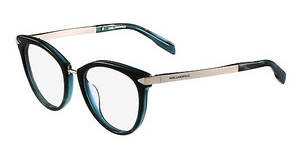 Karl Lagerfeld KL915 048 SHINY STRIPED GREEN MINT