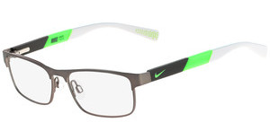 Nike NIKE 5574 069 BRUSHED GUNMETAL-FLASH LIME