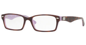 Ray-Ban RX5206 5240 TOP HAVANA ON OPAL VIOLET