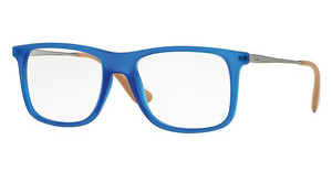 Ray-Ban RX7054 5524 RUBBER BLUE