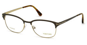 Tom Ford FT5381 050 braun dunkel