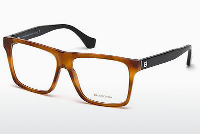 Okulary od projektantów. Balenciaga BA5066 053 - Havanna, Yellow, Blond, Brown