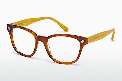 Okulary od projektantów. Dsquared DQ5179 053 - Havanna, Yellow, Blond, Brown