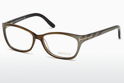 Okulary od projektantów. Tom Ford FT5142 050 - Brązowe, Dark