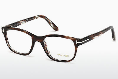 Okulary od projektantów. Tom Ford FT5196 050 - Brązowe, Dark
