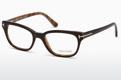Okulary od projektantów. Tom Ford FT5207 050 - Brązowe, Dark
