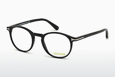 Okulary od projektantów. Tom Ford FT5294 052 - Brązowe, Dark, Havana