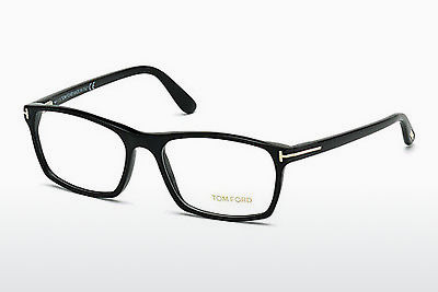 Okulary od projektantów. Tom Ford FT5295 052 - Brązowe, Dark, Havana