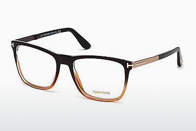 Okulary od projektantów. Tom Ford FT5351 050 - Brązowe, Dark