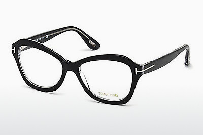 Okulary od projektantów. Tom Ford FT5359 003 - Czarne, Transparent