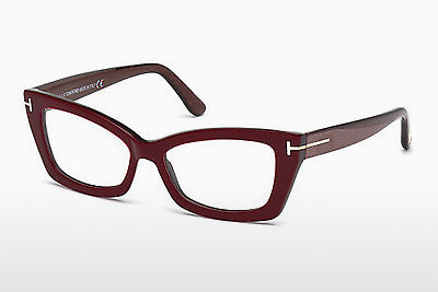 Okulary od projektantów. Tom Ford FT5363 071 - Burgund, Bordeaux