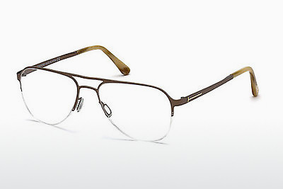 Okulary od projektantów. Tom Ford FT5370 034 - Brąz, Bright, Shiny