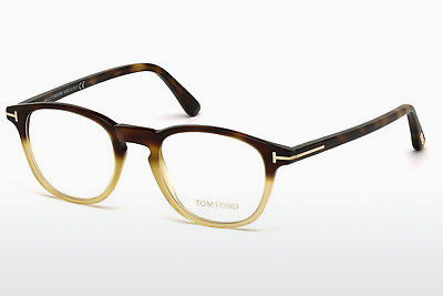 Okulary od projektantów. Tom Ford FT5389 053 - Havanna, Yellow, Blond, Brown