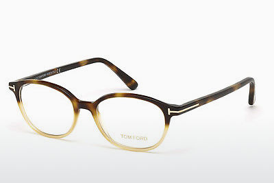 Okulary od projektantów. Tom Ford FT5391 053 - Havanna, Yellow, Blond, Brown