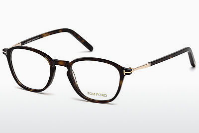 Okulary od projektantów. Tom Ford FT5397 052 - Brązowe, Dark, Havana