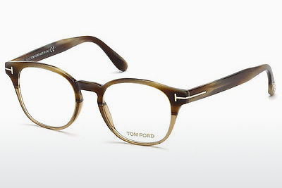 Okulary od projektantów. Tom Ford FT5400 65A - Róg, Horn, Brown