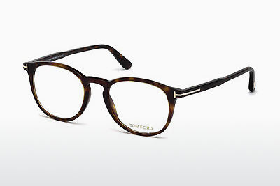 Okulary od projektantów. Tom Ford FT5401 052 - Brązowe, Dark, Havana