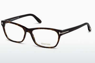 Okulary od projektantów. Tom Ford FT5405 052 - Brązowe, Dark, Havana