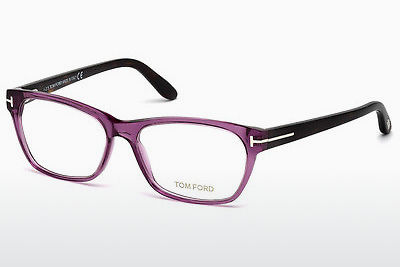 Okulary od projektantów. Tom Ford FT5405 081 - Purpurowe, Shiny