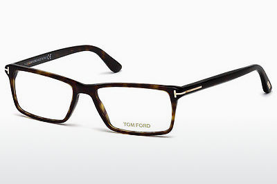 Okulary od projektantów. Tom Ford FT5408 052 - Brązowe, Dark, Havana
