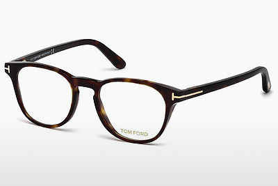 Okulary od projektantów. Tom Ford FT5410 052 - Brązowe, Dark, Havana