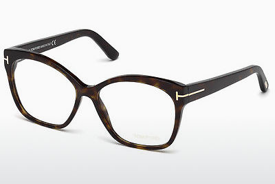 Okulary od projektantów. Tom Ford FT5435 052 - Brązowe, Dark, Havana
