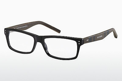Okulary od projektantów. Tommy Hilfiger TH 1136 4K1 - Blkdkwood