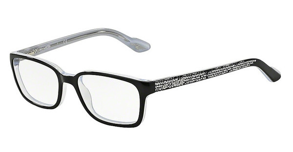 Arnette AN7036 1007 TOP BLACK ON WHITE-CRYSTAL