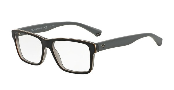 Emporio Armani EA3059 5390 TOP BLACK/MATTE GREY
