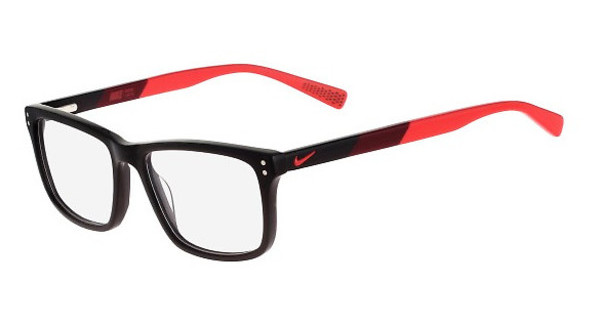 Nike NIKE 7238 015 BLACK-TEAM RED