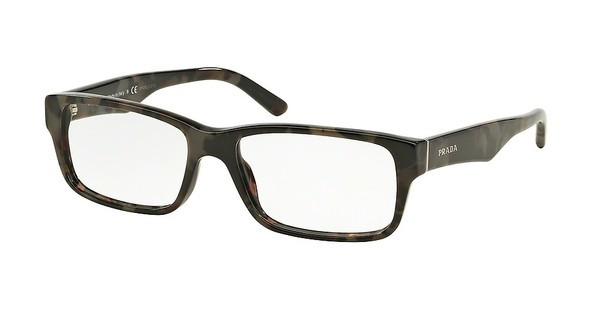 Prada PR 16MV UEL1O1 SPOTTED BROWN GREY