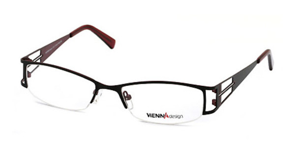 Vienna Design UN365 01 semimatt black-semimatt dark red