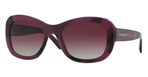 Burberry BE4189 35484Q GREY GRADIENT DARK VIOLETSPOTTED VIOLET