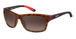 Carrera CARRERA 8013/S 6XV/LA BROWN SF PZHVNA BLCK (BROWN SF PZ)