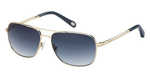 Fossil FOS 2001/S 1F5/XO NAVY SFSHINYGOLD (NAVY SF)