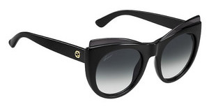 Gucci GG 3781/S D28/9O DARK GREY SFSHN BLACK (DARK GREY SF)