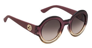 Gucci GG 3788/S MP6/D8 BROWN DSSHDBRGNDY (BROWN DS)