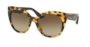 Miu Miu MU 07RS 7S01X1 BROWN GRADIENTLIGHT HAVANA