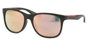 Prada Sport PS 03OS ROS2D2 GREY MIRROR ROSE GOLDMILITARY GREEN DEMI SHINY