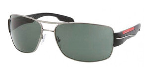 Prada Sport PS 53NS 5AV3O1 GREENGUNMETAL