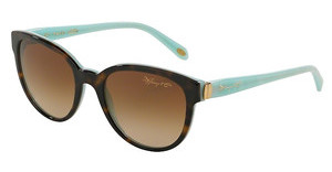 Tiffany TF4109 81343B BROWN GRADIENTDARK HAVANA/BLUE