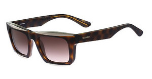 Valentino V718S 240 DARK HAVANA-LIGHT GOLD