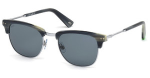 Web Eyewear WE0170 64V blauhorn bunt