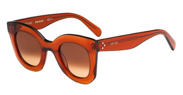 Céline   CL 41393/S EFB/PP BROWN DEGRADE'DK ORANGE
